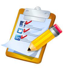 social meida checklist